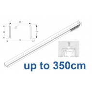 6970 & 6970 Wave Hand Operated, recess systems (White only) up to 350cm Complete