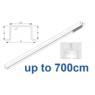 6970 & 6970 Wave Hand Operated, recess systems (White only) up to 700cm Complete