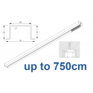 6970 & 6970 Wave Hand Operated, recess systems (White only) up to 750cm Complete