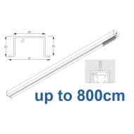 6970 & 6970 Wave Hand Operated, recess systems (White only) up to 800cm Complete