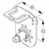 Clutch side bracket