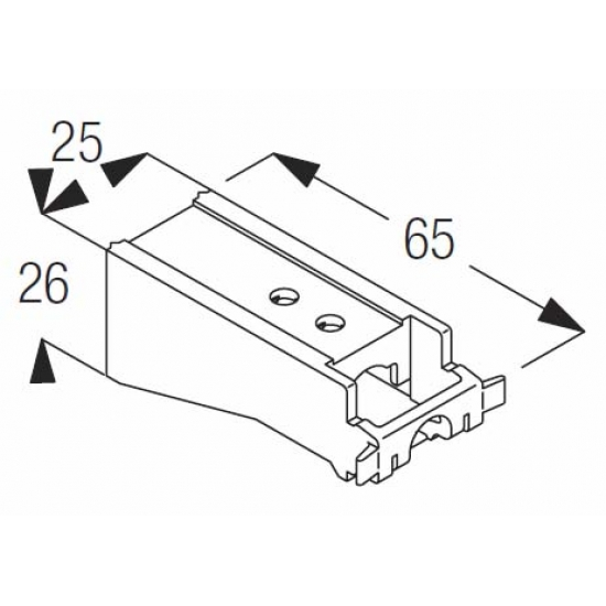 Extra long universal bracket