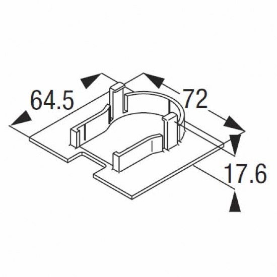 Ceiling cover plate (Discontinued)