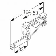 Plastic overlap arm (Each)