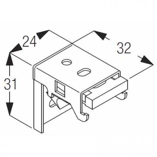 Fixing bracket (OBSOLETE)