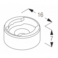 Wire Base (Short) (Each)