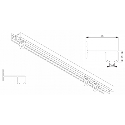 6021 Safety track systems