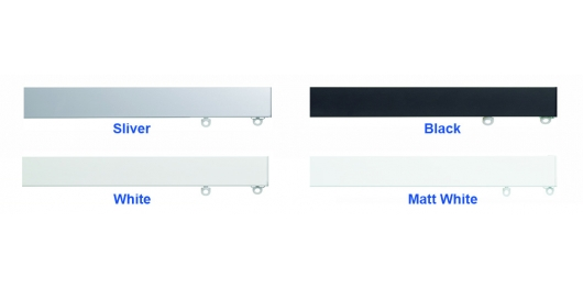 6100M Silver, Black, White, Matt White