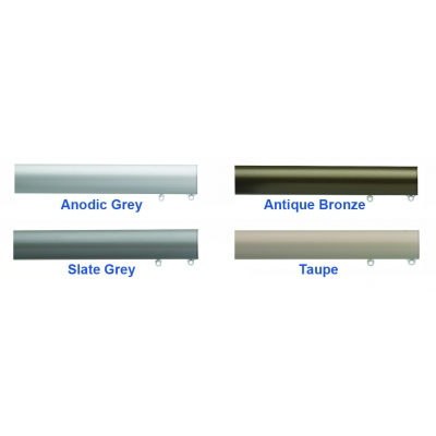Anodic Grey, Antique Bronze, Slate Grey, Taupe