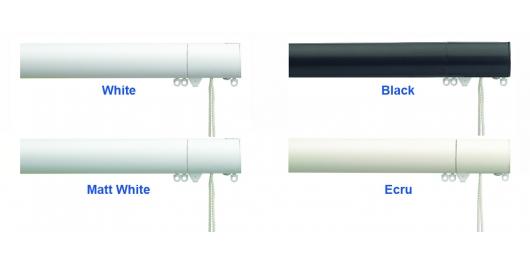 6160M  White, Black, Matt White, Ecru